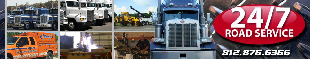 Asher Fleet Services Shop and Roadside Service Heavy Duty Trucks